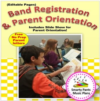 Elementary Band Registration & Orientation