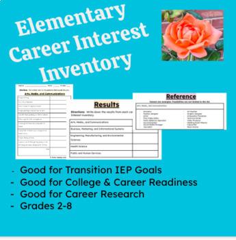 Elementary Career Interest Inventory