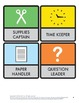 Elementary Classroom Jobs: Square Labels (K-6)