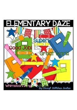 Elementary Daze Clipart Collection
