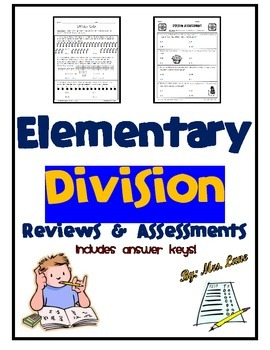 Elementary Division Reviews and Assessments