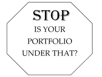 Drying Rack Sign: STOP is your PORTFOLIO under that? (DOCX)