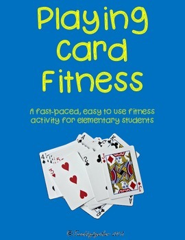 Elementary Fitness Activities Task Cards