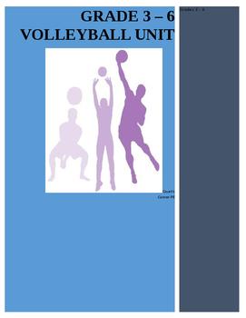 Elementary (Grade 3-6) Volleyball Unit