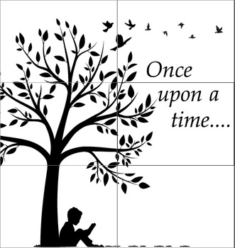 Elementary Library Display cut out (6*A3): Once upon a tim