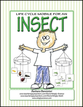 Life Cycle Mobiles for an Arthropod ★ FREEBIE ★