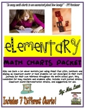 Elementary Math Charts Packet (Free! Free! Free!)