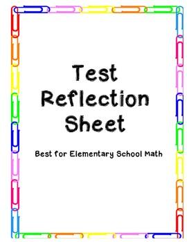 Elementary Math Test Reflection
