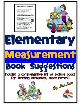 Elementary Measurement Book Suggestions