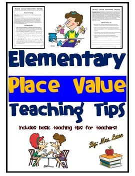 Elementary Place Value Teaching Tips