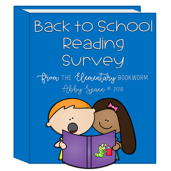 Back to School Student Reading Survey {FREEBIE}