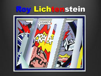 Elementary Roy Lichtenstein Presentation