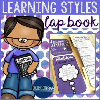 Elementary School Counseling Lap Book: Learning Styles - S