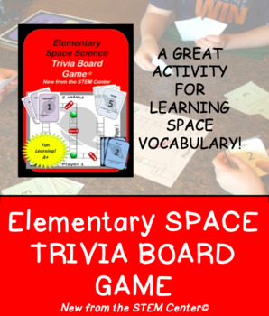 """Science Game: Elementary Space Science """"Making Science Fun!"""""""