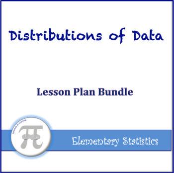 Elementary Statistics Unit Three Lesson Plan Bundle