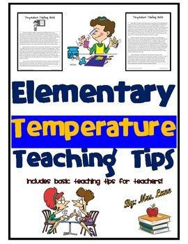 Elementary Temperature Teaching Tips