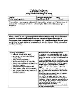 Elementary VERY FUN Language Arts Vocab