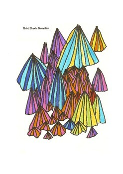 Elementary Visual Art Project - Crystal Line Tricks