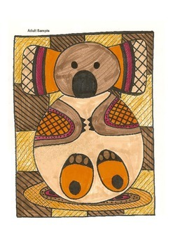 Elementary Visual Art Project - Koala - Australian