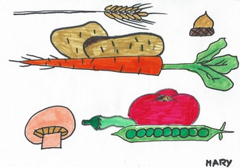 Elementary Visual Arts Project - Food