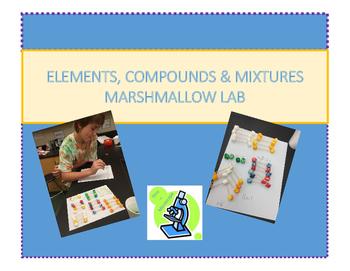 Elements, Compounds, Mixtures: Marshmallow Lab