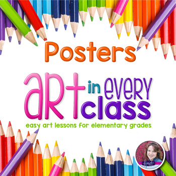 Elements and Principles of Art Posters