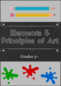 Elements and Principles of Art and Design