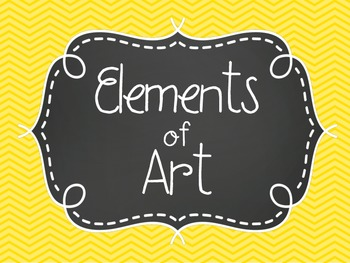 Elements of Art Cover Poster
