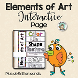 Elements of Art Interactive Page