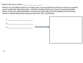 Elements of Art Interactive Worksheet Bundle
