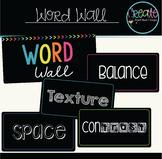 Art Word Wall