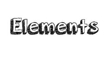 Elements of Art vocabulary words