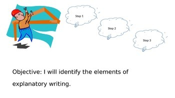 PowerPoint Elements of Explanatory Writing