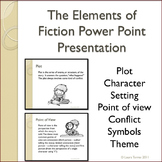 Elements of Fiction Power Point Presentation