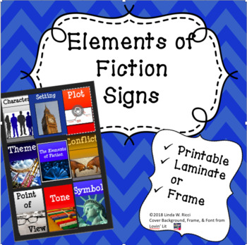 Elements of Fiction Signs