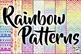 Elements of Music Anchor Charts: Rainbow Tribal Music Room Decor