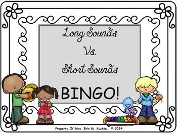 BINGO BUNDLE - Elements of Music for Elem. Music Room (Hi/