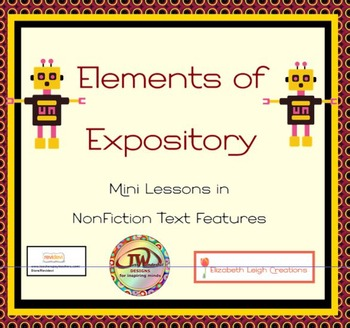 Elements of NonFiction Text Features Mini Lessons in Expos
