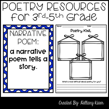 Elements of Poetry Bundle!