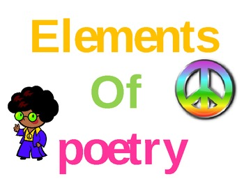 Elements of Poetry Jeopardy