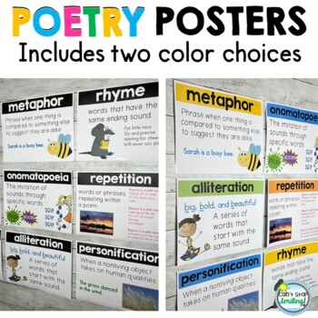 Poetry Posters ~ Poetry Elements