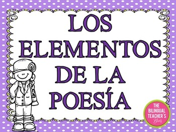 Elements of Poetry in Spanish