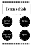 Elements of Style Poster for the High School Classroom