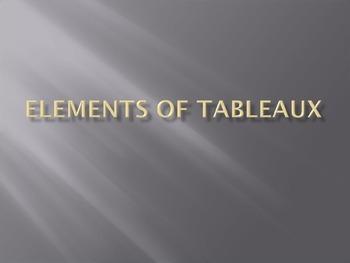 Elements of Tableau powerpoint