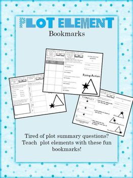 Plot and Story Element Foldables