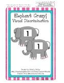 Elephant Crazy! - Visual Discrimination Numbers - File Fol