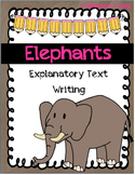 Elephant Explanatory Text Writing