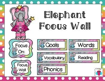 Elephant Focus Wall