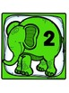 Elephant Theme Table Numbers -Freebie!