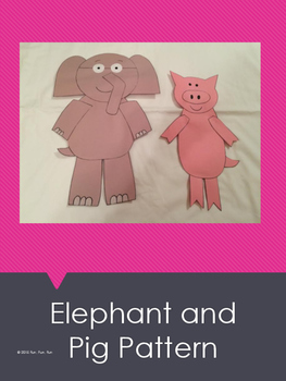 Elephant and Pig Art Pattern